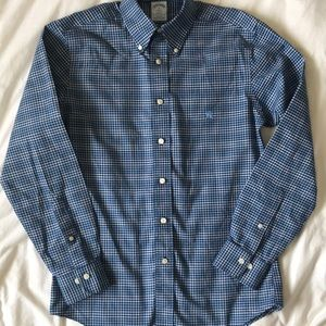 Brooks Brothers Regent Oxford cloth checked shirt